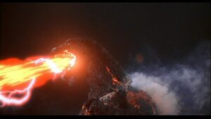 Godzilla spiral ray ahead