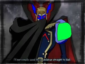 Myotismon cool cape super