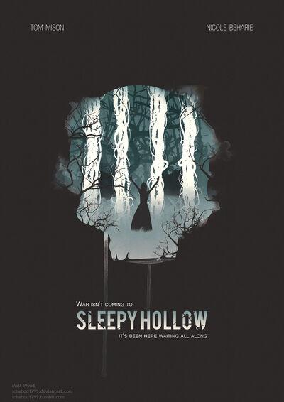 Sleepy hollow tv poster design by ichabod1799-d8alb1p