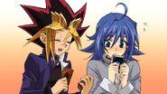 Yugi Muto and Aichi Sendou