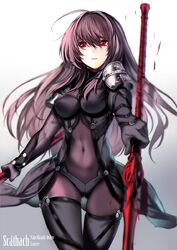 Scathach fate grand order and fate series drawn by karlwolf sample-4f46721034132c4d070091b34f485654