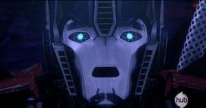 Optimus shocked