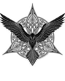 Raven Queen Holy Symbol