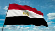 Stock-footage-egypt-flag-waving-against-time-lapse-clouds-background