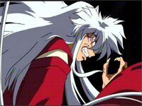 Inuyasha demon enraged