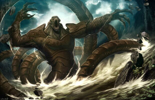MrRelease the Kraken by GENZOMAN