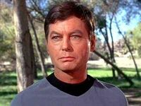 Dr mccoy look on