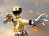 Yellow Megaforce Ranger