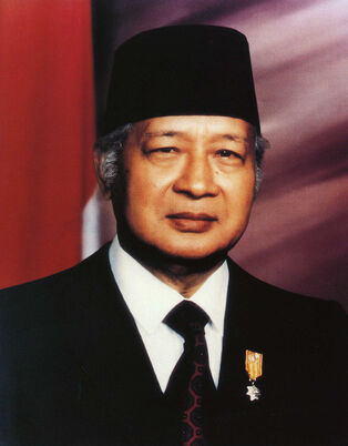 President Suharto, 1993