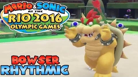 Mario & Sonic at the Rio 2016 Olympic Games (Wii U) - Bowser in Rhythmic Gymnastics