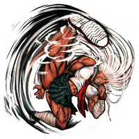Sakura Ogami Illustration