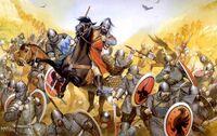 Old-horse-battle