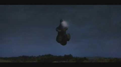 Godzilla can fly!