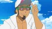 Professor Kukui Pokemon anime