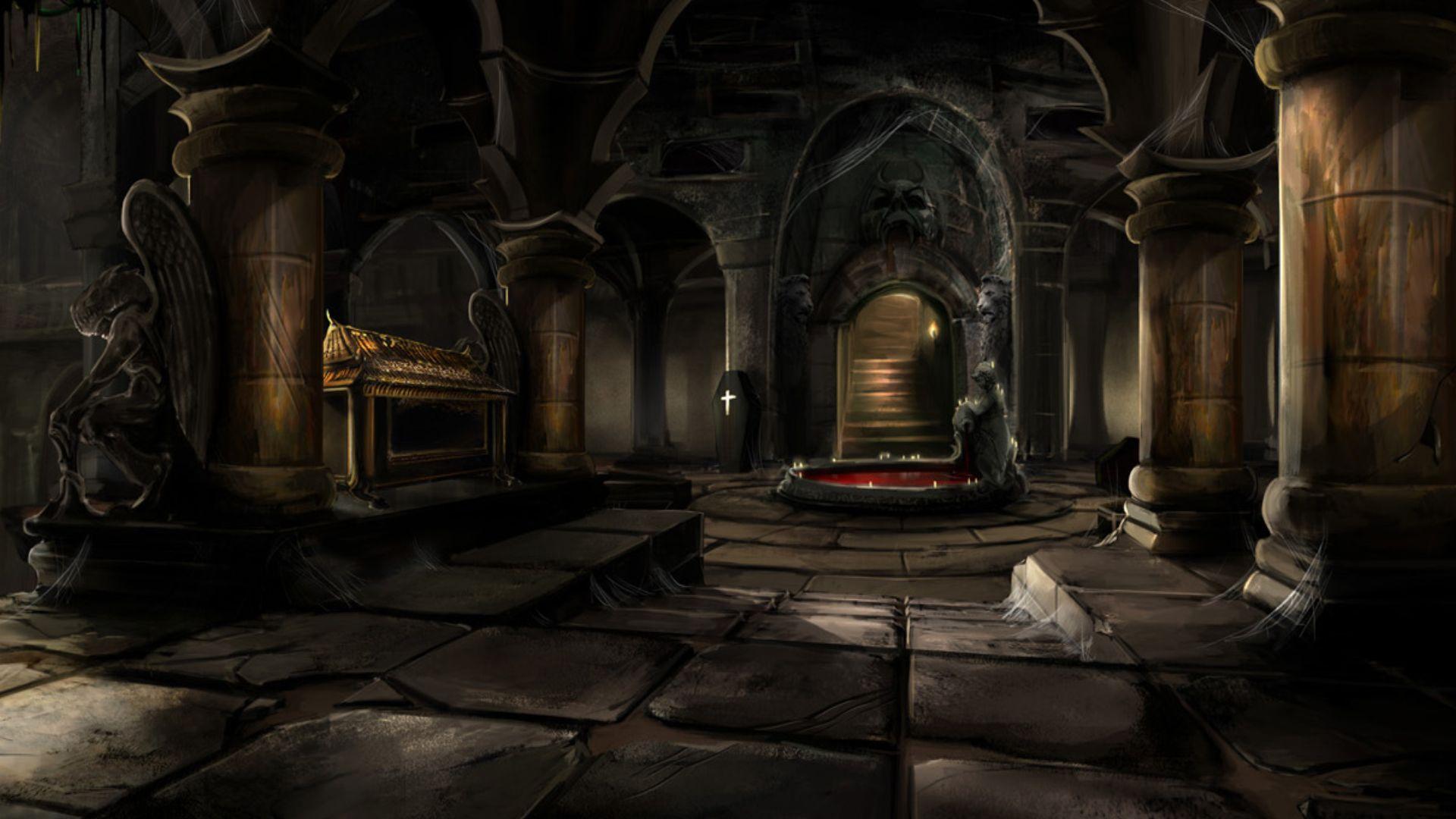 haunted catacombsjpg - Multi Castle Interior