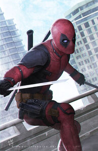 Deadpool ready sword