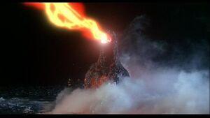 Godzilla spiral ray up