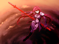 Scathach fate grand order and fate series drawn by leila lalan sample-b8c0a626e737c0fa4ec4d42ad07233ae