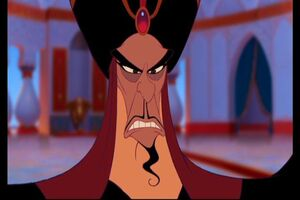 Jafar doesn't look happy
