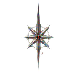 Lolth symbol - Mike Schely