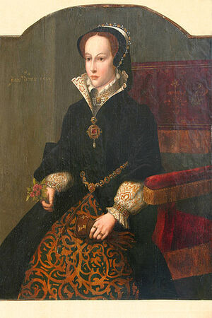 Mary I, Queen of England, daughter of Catherine of Aragon and Henry VIII