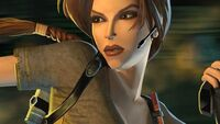 Lara close up