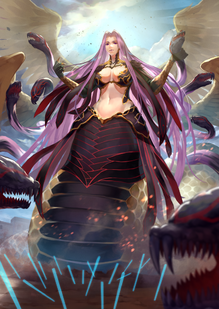 Rider and gorgon fate and 1 more drawn by shin716 023d04b17ab97697afe35eb5d196e4d2