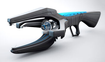 C4D-Free-Model-Lightning-Gun-Dusan-Vukcevic