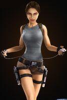 Lara with i-pod