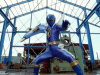 Blue Super Dino Mode
