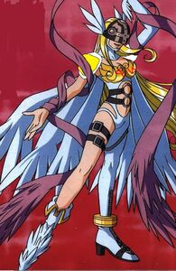 Angewomon ta-da pose super