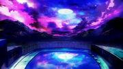 Tasogare otome x amnesia-04-colors-night sky-swimming pool-school-beautiful-gorgeous-yuuko