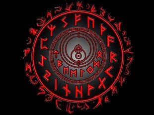 Arcane rune circle by thy6sins6of6lust