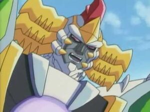 Galvatron getting ticked