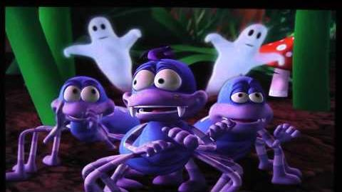 Spookley the Square Pumpkin The Spider Song (Boo)
