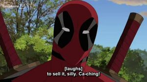 Deadpool chaching
