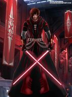 Sith warrior by romanian dovahkiin-d6a0lob