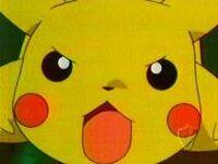 Pikachu angry jump