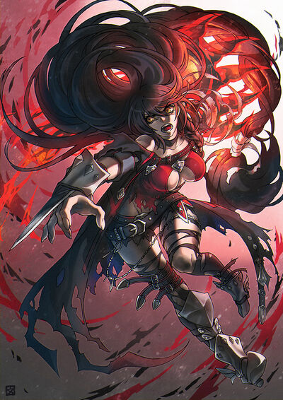 Velvet crowe tales of series and tales of berseria drawn by daoli c678ee5c6a1ca6f13e528ce57563e1ac
