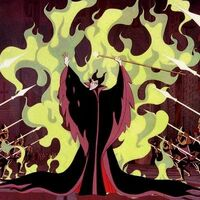 Maleficent fire shield