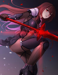 Scathach fate grand order and fate series drawn by kkkok a sample-488e1f0b5938269825b0f91afd4ffbe3