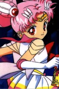Sailor mini moon with bell