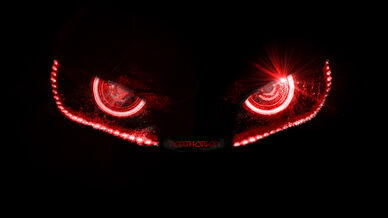Badass evil robotic eyes without lines by porthorion-d6ia46z