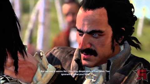 Assassin's Creed 3 Connor Meets Charles Lee