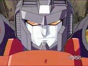 Starscream his own cute grin