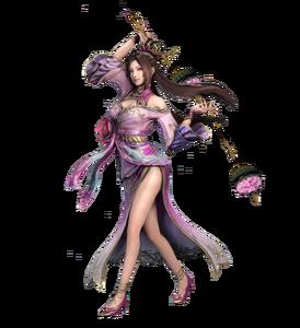 Dynasty warriors 9 diao chan render twin maces by swordofheaven89-dbnjta1