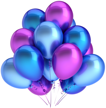 Balloons stock 2 png by mysticmorning-d3kds2w