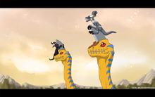 Trough ancient dino region by shoyu rai-d5dc768