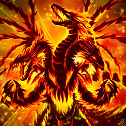 Ultimate abyssal firedrake by raphtil-d4eu196