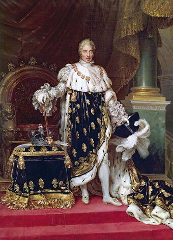 Charles X Roi de France et de Navarre